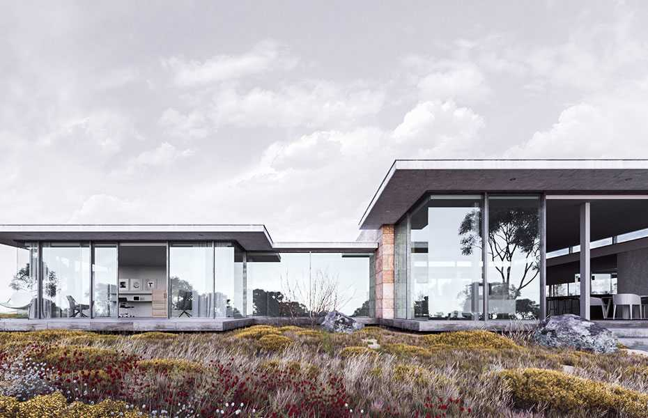 Монтаж фасада домов