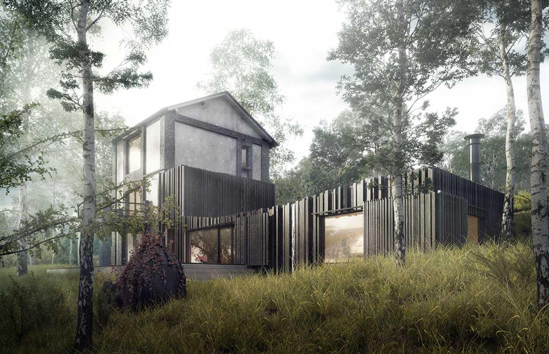 Разработка проекта фасада из Японских панелей