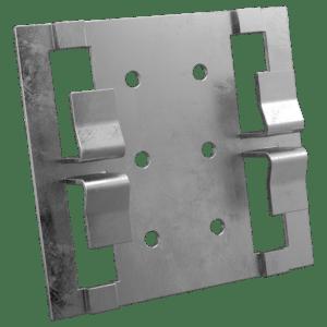 Кляммер рядовой с квадратными лапками