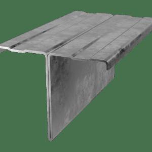 Профиль для фасада Т-образный оцинкованный или окрашенный