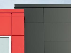 Фасад на подсистеме облицовка панель из алюминия