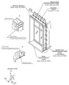 Сборный короб из оцинкованной стали